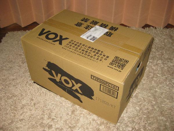 VOXヴォックス強炭酸水(プレーン)を購入!成分表示はオールゼロ!