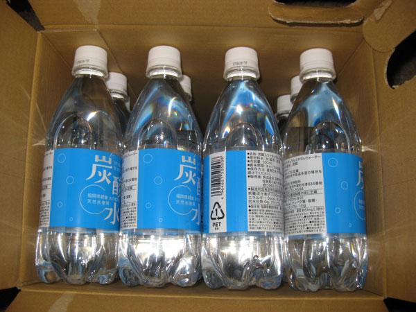 水の郷百選 天然水使用の炭酸水の口コミ!とっても飲みやすく安心安全!