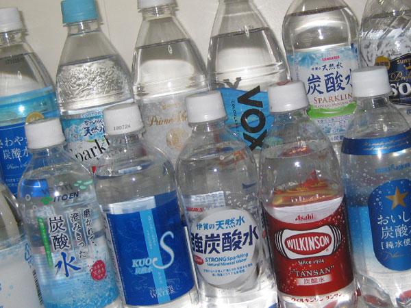 色々な炭酸水